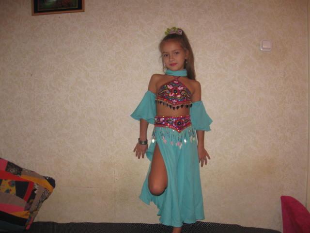 Костюм для восточных танцев для девочки своими руками 97