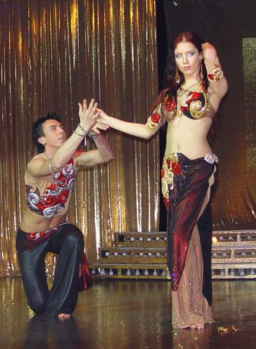 КСАНТА - Галерея - Танец живота - Ирина Попова и Алексей Рябошапка.