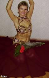 Костюм для танца живота от дизайнера Ольги Росановой