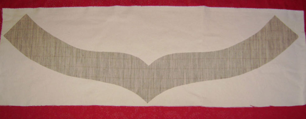 Сшивание бортовки с твилом