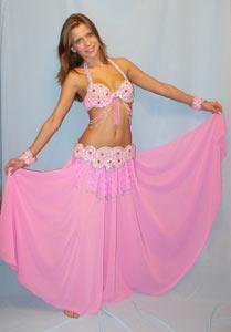 Выкройка юбки танца живота